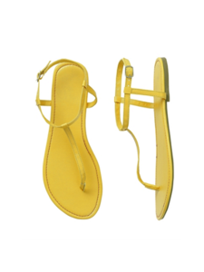 Hema sandalen geel