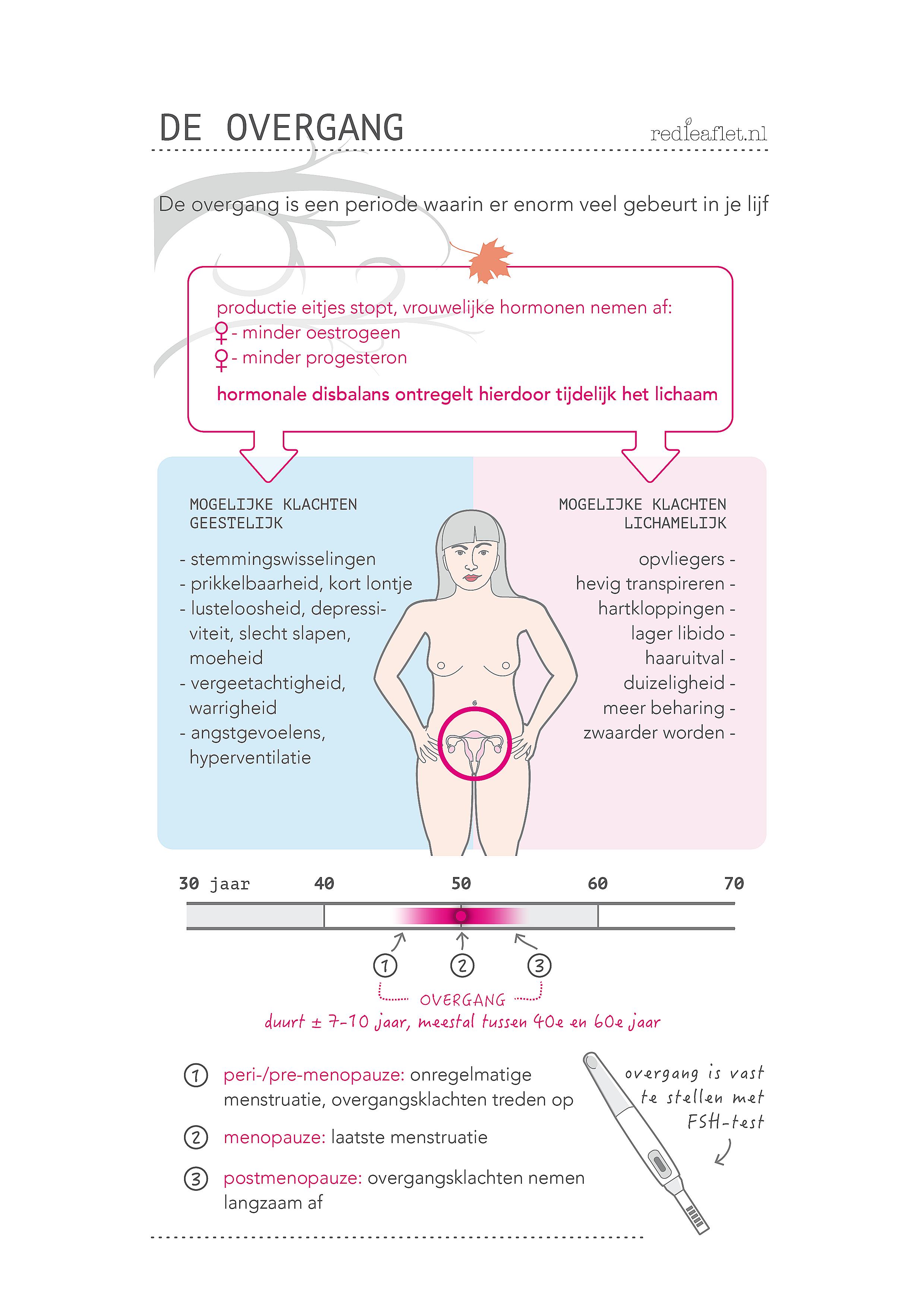 lang menstrueren overgang